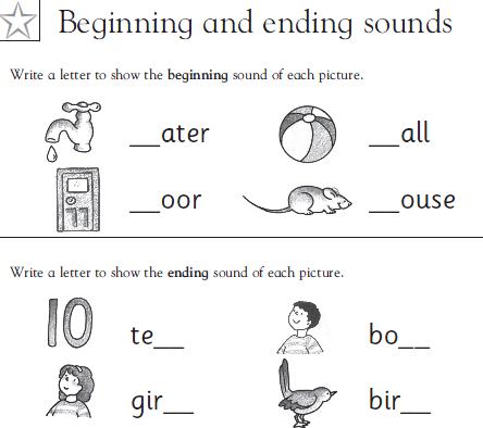 Kindergarten Reading Worksheets OXBRIDGE COLLEGE